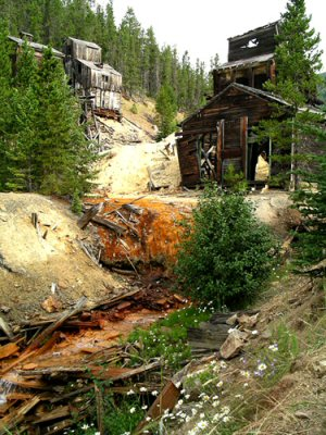 Galena Creek Mine, Montana